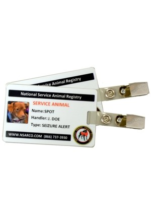 Service Dog ID Cards