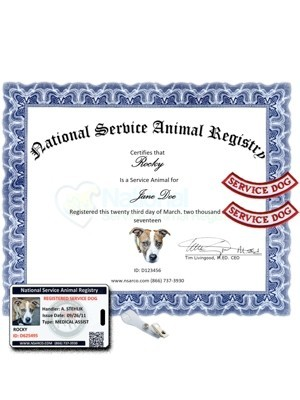 Service Dog Registration - Essential Kit