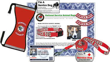 National Service Animal Registry